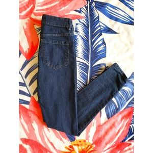Size Small- Jeggings Dark Wash blue